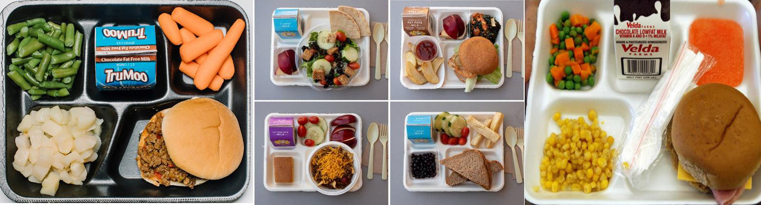 School Lunch Graphic