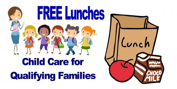 FREE Lunches and Child care